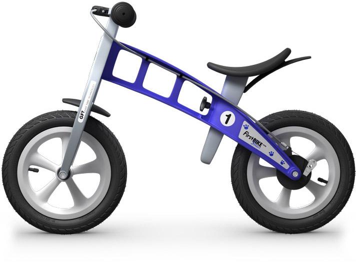 odrážedlo First bike modrá / blue