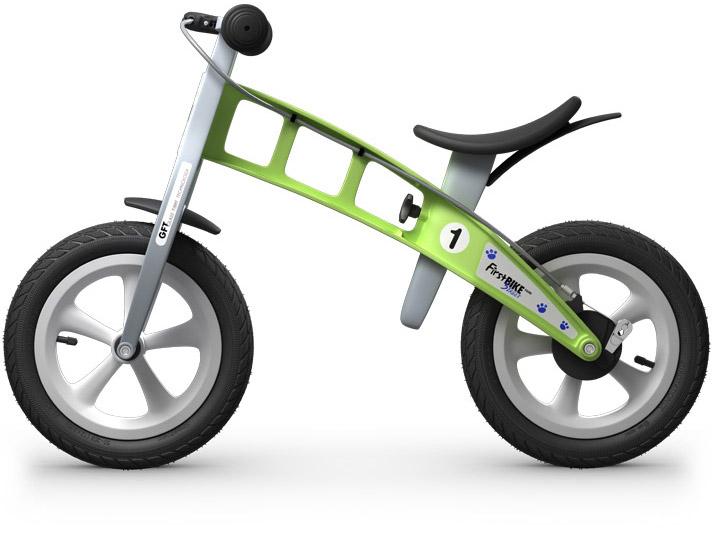 odrážedlo First bike zelená / green