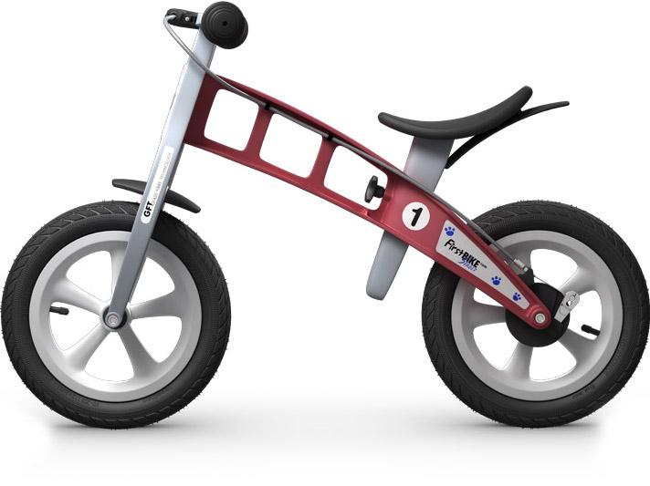 odrážedlo First bike červená / red