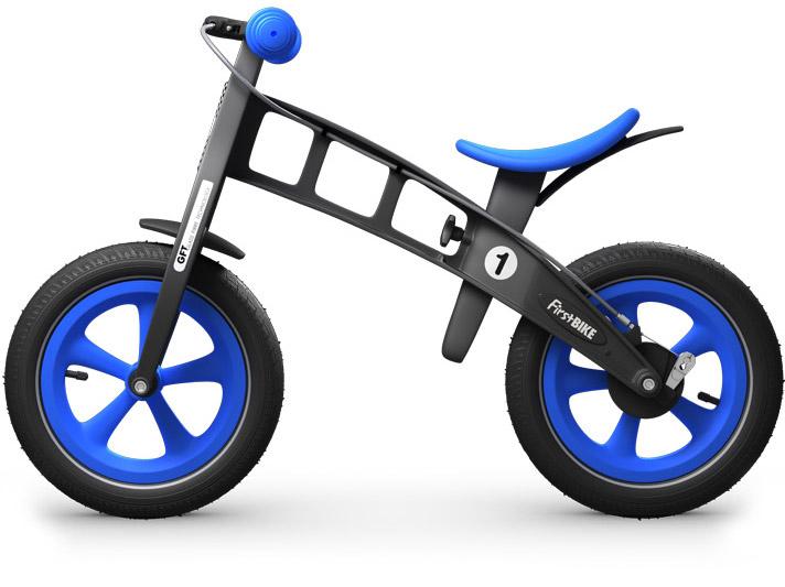 odrážedlo First bike limitovaná edice blue / modrá