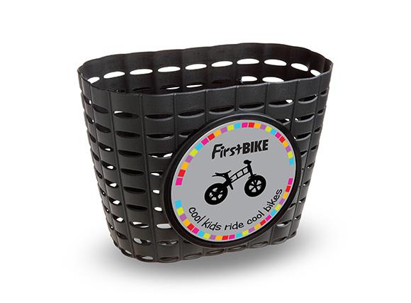 First bike - košík černý