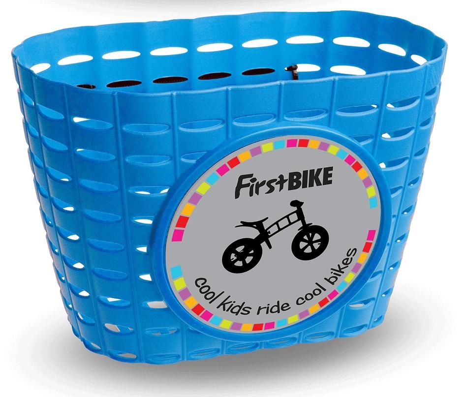 košík na First bike modrý