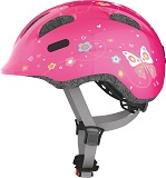 Helma Abus SMILEY- pink butterfly - M