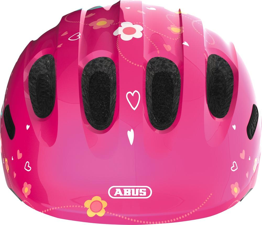 Helma Abus Smiley 2.0 - pink butterfly M
