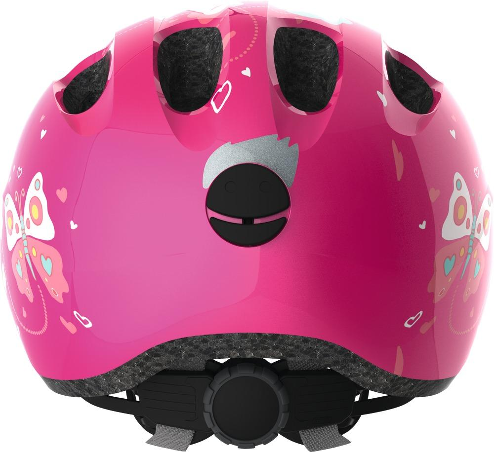 Helma Abus Smiley 2.0 - pink butterfly S