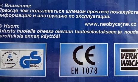 certifikace helem Čsn en 1078