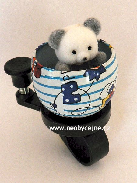 First bike - zvonek medvídek